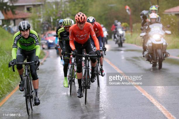 Mikel Iturria of Spain and Team Euskadi Basque Country Murias / Alessandro De Marchi of Italy and CCC Team / Tsgabu Grmay of Ethiopia and Team...