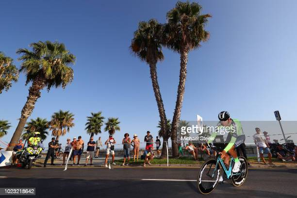 Mikel Iturria of Spain and Team Euskadi Murias / during the 73rd Tour of Spain 2018 Stage 1 a 8km Individual Time Trial from Malaga to Malaga / La...