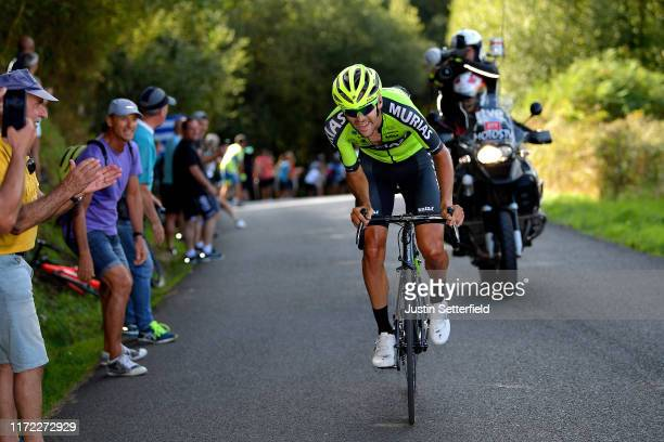 Mikel Iturria Segurola of Spain and Team Euskadi Basque CountryMurias / during the 74th Tour of Spain 2019 Stage 11 a 180km stage from Saint Palais...