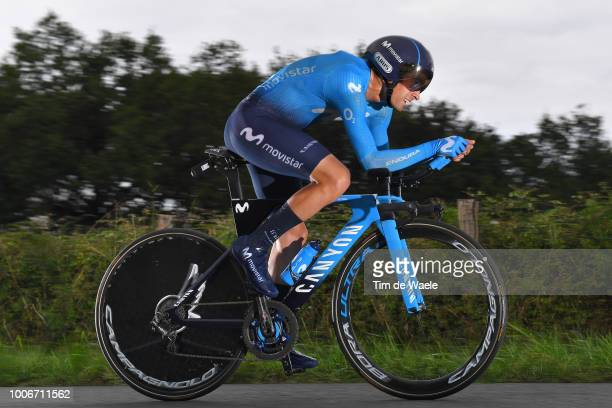 Mikel Landa Meana of Spain and Movistar Team / during the 105th Tour de France 2018, Stage 20 a 31km Individual Time Trial stage from...