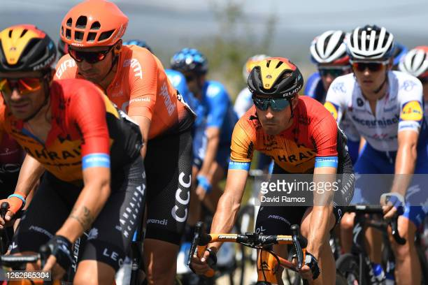 Mikel Landa Meana of Spain and Team Bahrain McLaren / during the 42nd Vuelta a Burgos 2020, Stage 3 a 150km stage from Sargentes de la Lora to...
