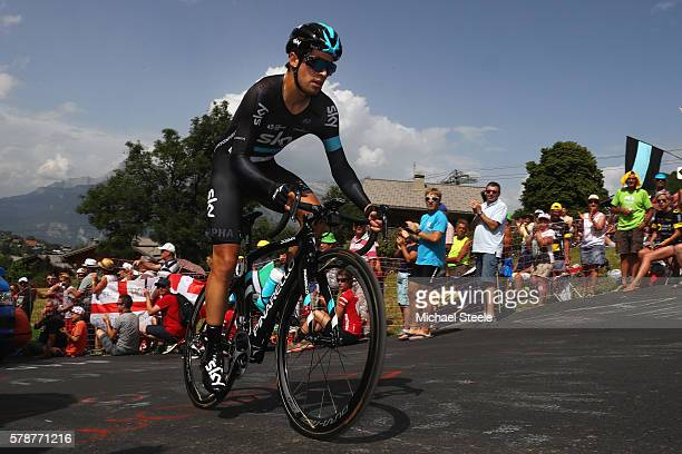 Mikel Landa of Spain and Team Sky during the 17km Individual Time Trial stage eighteen of Le Tour de France from Sallanches to Megeve on July 21 2016...