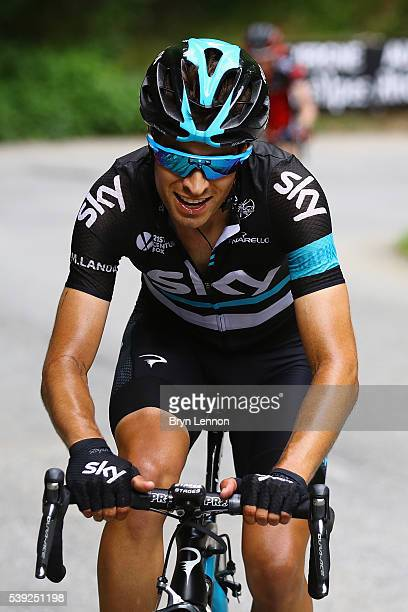Mikel Landa of Spain and Team SKY in action during stage five of the 2016 Criterium du Dauphine a 140km stage from La Ravoire to Vaujany on June 10...