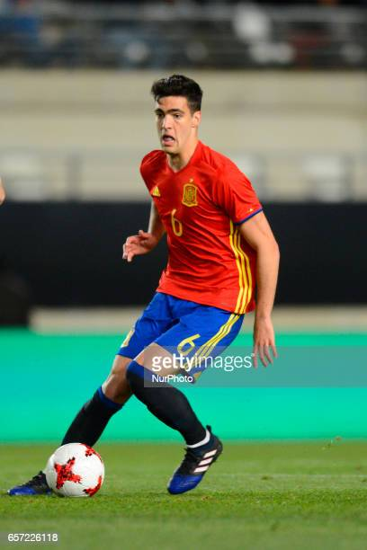 Mikel Merino during the friendly match of national teams U21 of Spain vs Denmark in stadium Nueva Condomina Murcia SPAIN March 23rd 2017