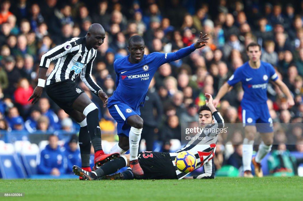 Chelsea v Newcastle United - Premier League : Nachrichtenfoto
