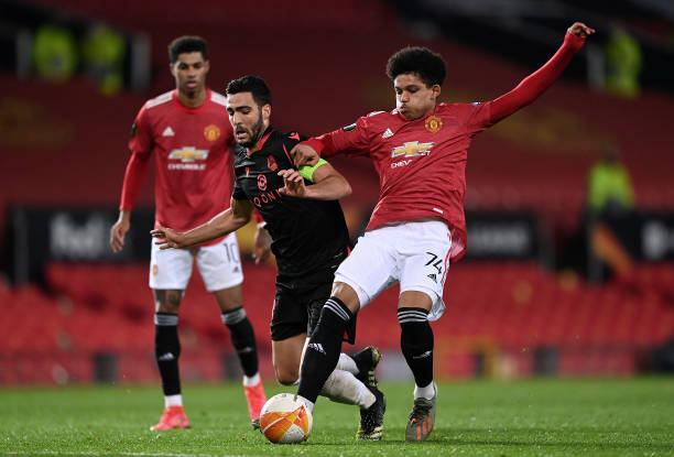 GBR: Manchester United v Real Sociedad  - UEFA Europa League Round Of 32 Leg Two