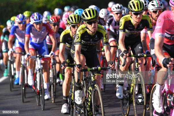Mikel Nieve Ituralde of Spain and Team Mitchelton-Scott / Simon Yates of Great Britain and Team Mitchelton-Scott / Jack Haig of Australia and Team...