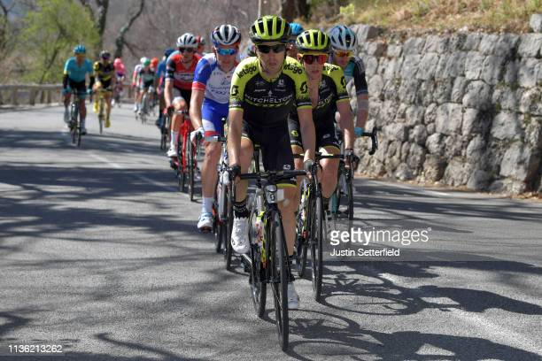 Mikel Nieve of Spain and Team Mitchelton Scott / Simon Yates of United Kingdom and Team Mitchelton Scott / during the 77th Paris Nice 2019 Stage 7 a...