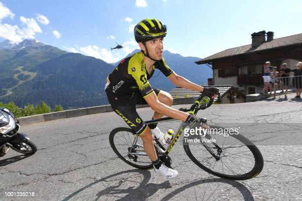 Mikel Nieve of Spain and Team Mitchelton-Scott / during the 105th Tour de France 2018, Stage 11 a 108,5km stage from Albertville to La Rosiere -...