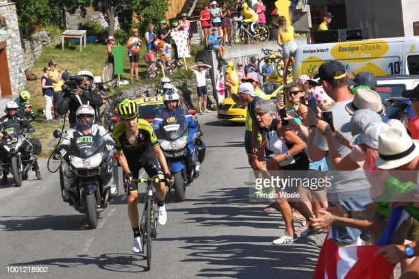 Mikel Nieve of Spain and Team Mitchelton-Scott / Fans / Public / during the 105th Tour de France 2018, Stage 11 a 108,5km stage from Albertville to...
