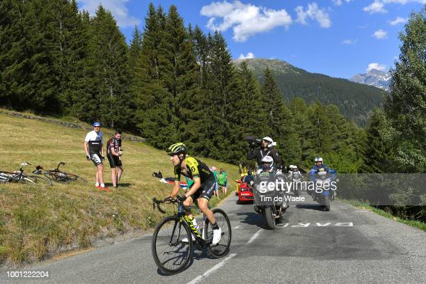 Mikel Nieve of Spain and Team Mitchelton-Scott / La Rosiere / Landscape / Mountains / during the 105th Tour de France 2018, Stage 11 a 108,5km stage...