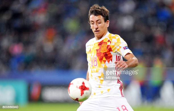 Mikel Oyarzabal during the UEFA European Under21 match between Serbia and Spain at Arena Bydgoszcz on June 23 2017 in Bydgoszcz Poland