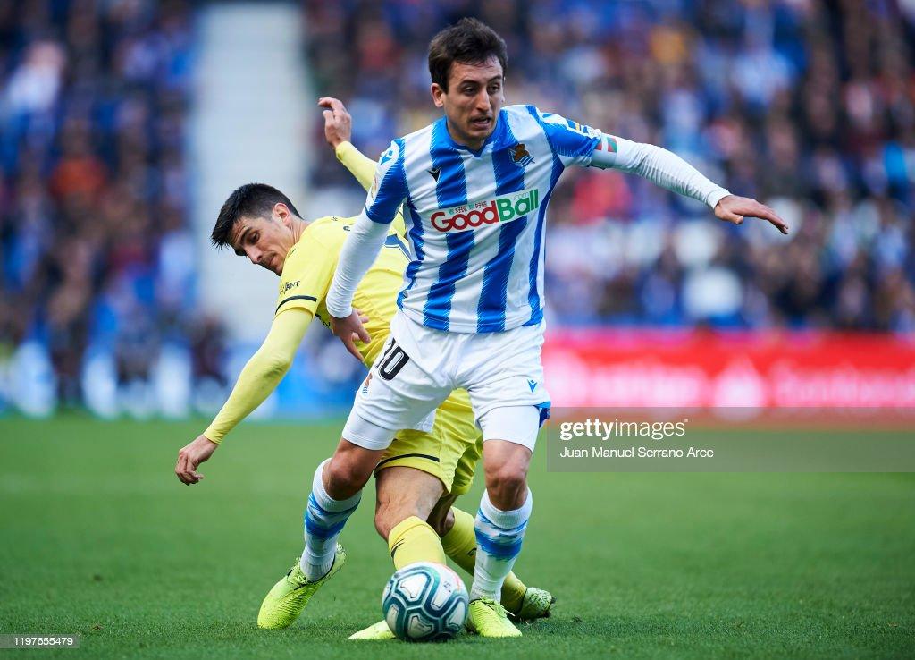 Real Sociedad v Villarreal CF  - La Liga : News Photo