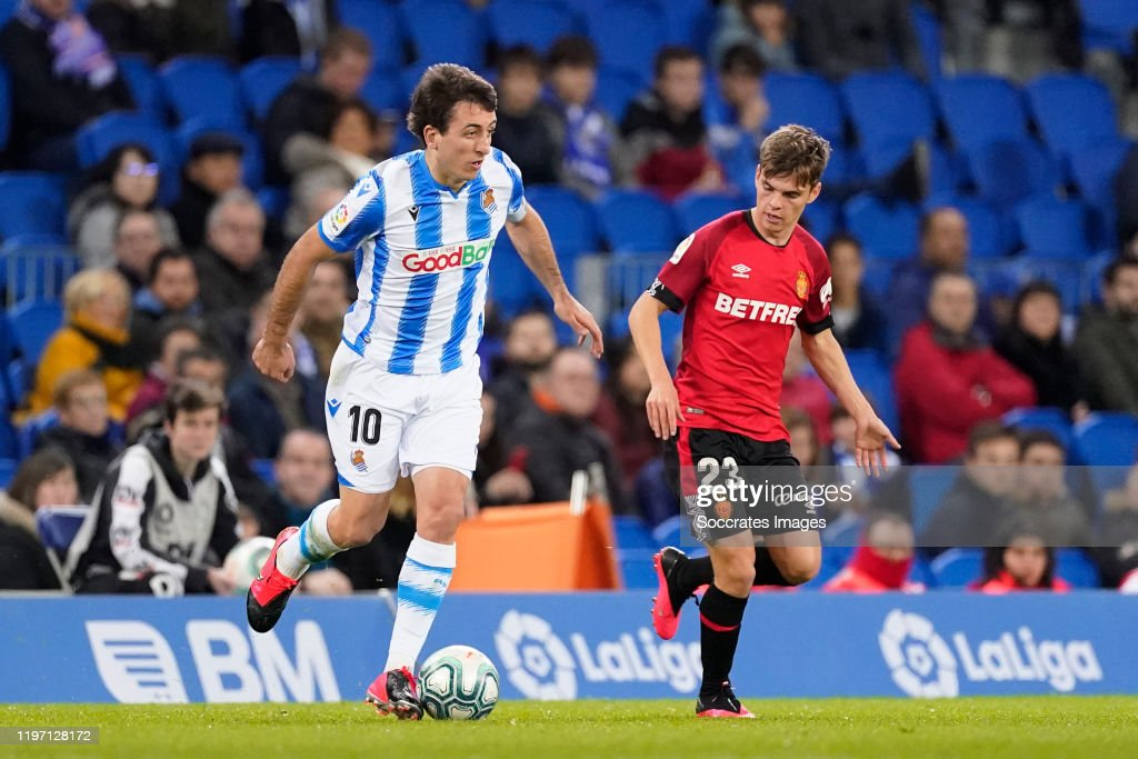 Real Sociedad v Real Mallorca - La Liga Santander : News Photo