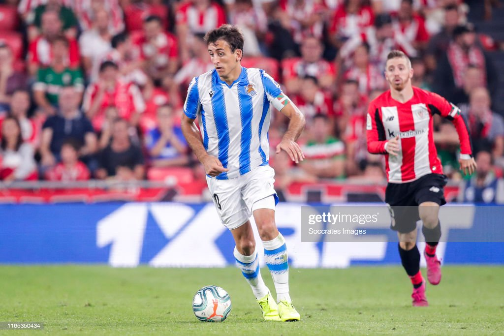 Athletic Bilbao v Real Sociedad - La Liga Santander : ニュース写真