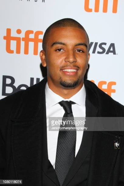 Mikey Alfred attends the 'Mid90s' Premiere during 2018 Toronto International Film Festival at Ryerson Theatre on September 9 2018 in Toronto Canada