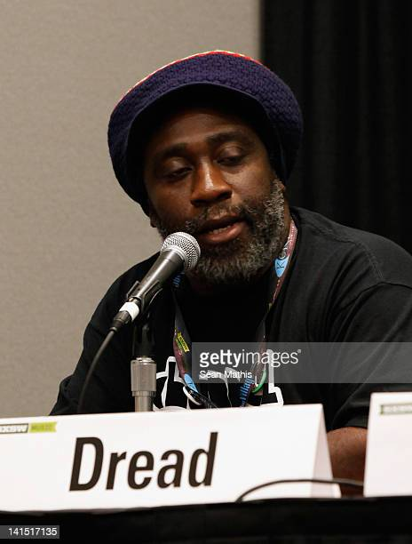 Mikey Dread speaks onstage at Bass Culture The Influence of Reggae Music in Britain and Beyond during the 2012 SXSW Music Film Interactive Festival...