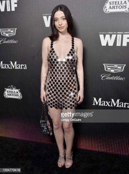 Mikey Madison attends the 13th Annual Women In Film Female Oscar Nominees Party at Sunset Room Hollywood on February 07 2020 in Hollywood California