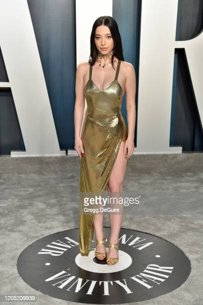 Mikey Madison attends the 2020 Vanity Fair Oscar Party hosted by Radhika Jones at Wallis Annenberg Center for the Performing Arts on February 09 2020...