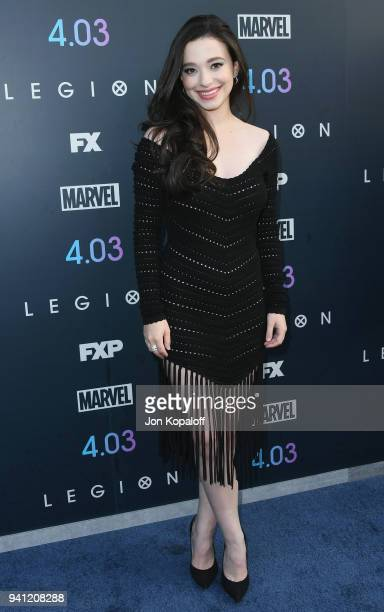 Mikey Madison attends the Premiere Of FX's 'Legion' Season 2 at DGA Theater on April 2 2018 in Los Angeles California