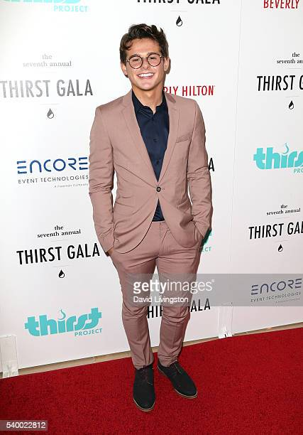 Mikey Murphy attends the 7th Annual Thirst Gala at The Beverly Hilton Hotel on June 13 2016 in Beverly Hills California