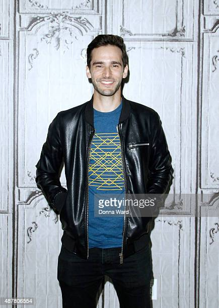 Mikey Wax appears to promote You Lift Me Up during the AOL BUILD Series at AOL Studios In New York on September 11 2015 in New York City