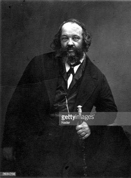 Mikhail Alexandrovich Bakunin, the father of Russian nihilism.