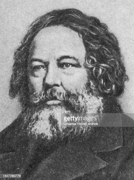 Mikhail Bakunin Russian revolutionary anarchist, socialist and founder of collectivist anarchism..