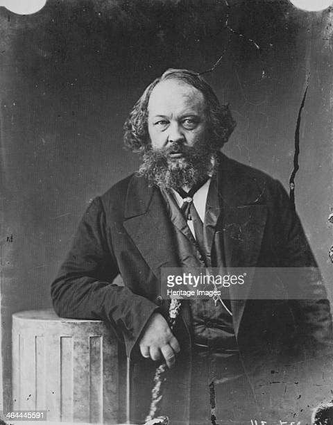 Mikhail Bakunin, Russian revolutionary and theorist of anarchism, c1863. Bakunin was the leading proponent of the doctrine of Collectivist Anarchism....