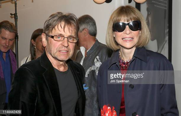 """Mikhail Baryshnikov and Anna Wintour attend the screening of Sony Pictures Classics' """"The White Crow"""" hosted by the The Cinema Society and Monkey 47..."""