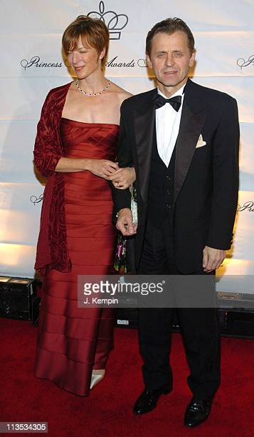 Mikhail Baryshnikov and guest during The 2005 Princess Grace Awards at Cipriani 42nd Street in New York City New York United States