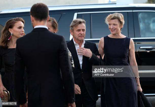 Mikhail Baryshnikov and Lisa Rinehart arrive at the LADP annual gala and unveiling of new company space at the LADP new home in Los Angeles on...