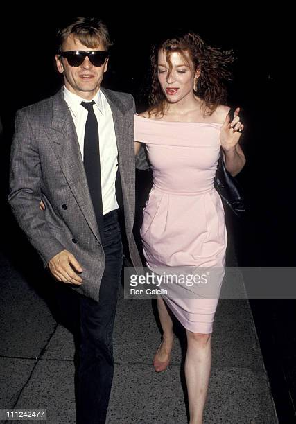 Mikhail Baryshnikov and Lisa Rinehart during New York Premiere of The Believers at Ziegfield Theatre in New York City NY United States