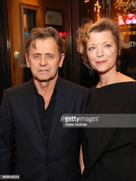 Mikhail Baryshnikov Lisa Rinehart Stock Photos and ...
