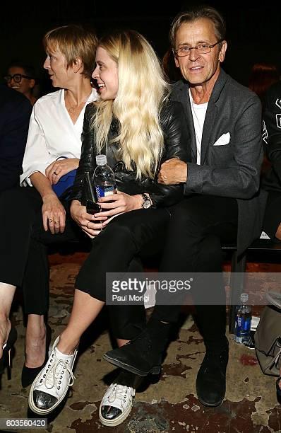 Mikhail Baryshnikov attends the Rag Bone fashion show during New York Fashion Week September 2016 at Skylight Clarkson North on September 12 2016 in...