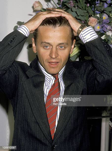 Mikhail Baryshnikov during Mikhail Baryshnikov Perfume Celebration September 12 1989 at Saks 5th Avenue in Beverly Hills California United States
