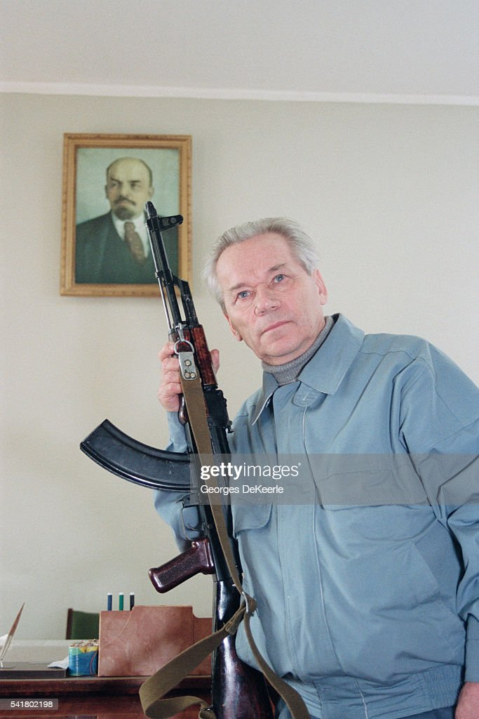 Mikhail Kalashnikov, Inventor of the Weapon which Carries His Name