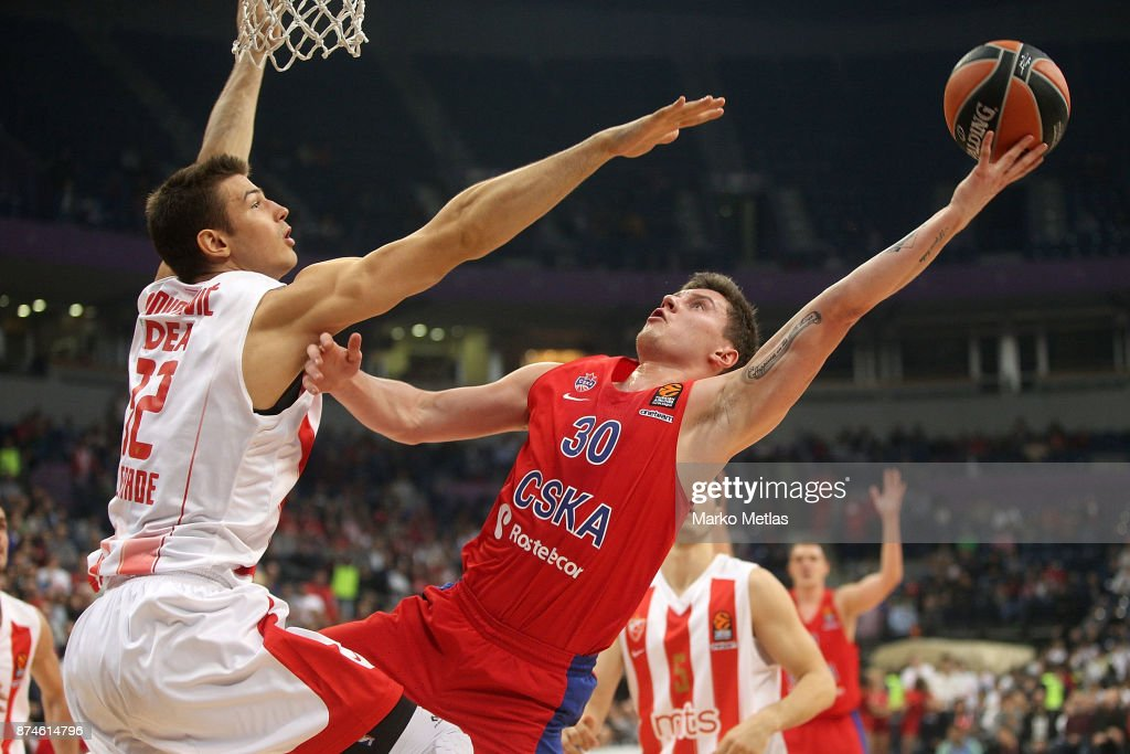 Crvena Zvezda mts Belgrade v CSKA Moscow - Turkish Airlines EuroLeague