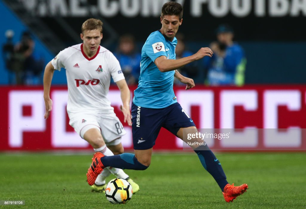 FC Zenit Saint Petersburg vs FC Lokomotiv Moscow - Russian Premier League