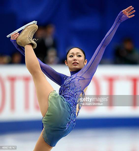 Miki Ando competes in the Ladies' Singles Short Program during the 82nd All Japan Figure Skating Championships at Saitama Super Arena on December 22...