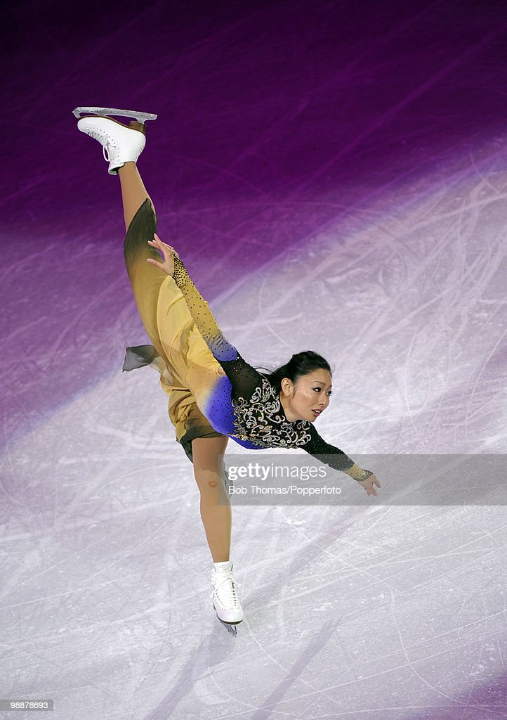 Miki Ando of Japan performs at the Exhibition Gala following the Olympic figure skating competition at Pacific Coliseum on February 27, 2010 in Vancouver, Canada.