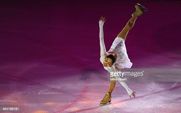 Miki Ando of Japan performs during the Gala of the ISU 46th Golden Spin of Zagreb at the Dom Sportova on December 7 2013 in Zagreb Croatia