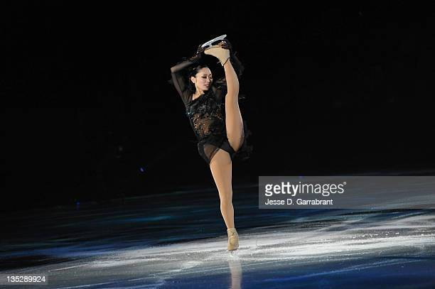 Miki Ando performs during Caesars Tribute II A Salute to the Ladies of the Ice on December 3 2011 at Boardwalk Hall in Atlantic City New Jersey