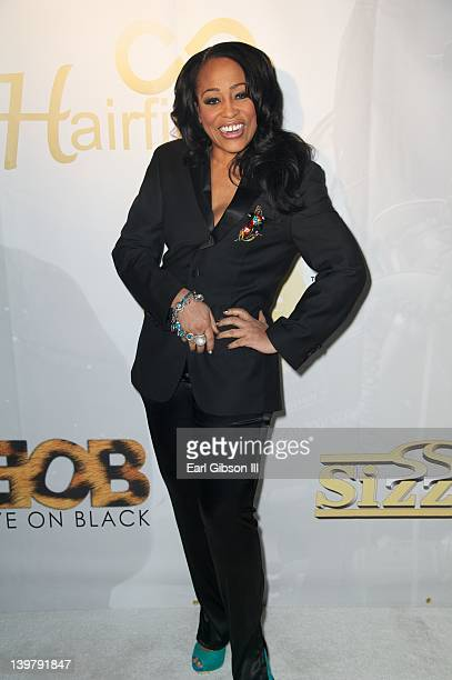 Miki Howard attends the red carpet for the 'Eye On Black' Awards Show at Park Plaza on February 24 2012 in Los Angeles California