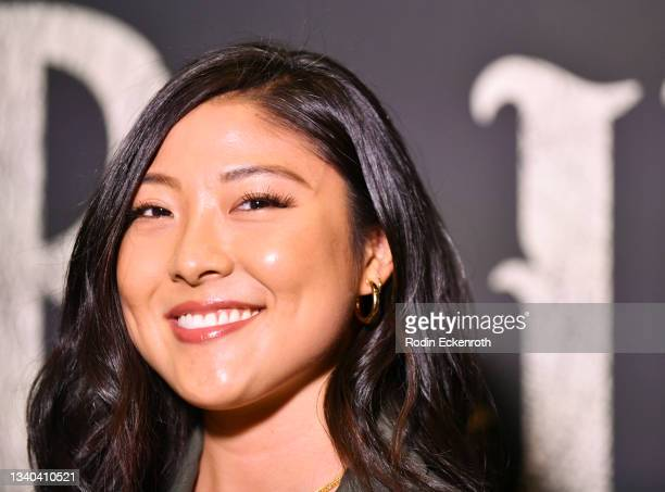 """Miki Ishikawa attends the Los Angeles Premiere of Focus Features' """"Blue Bayou"""" at DGA Theater Complex on September 14, 2021 in Los Angeles,..."""