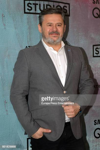 Miki Nadal attends the Atresmedia Studios photocall at the Barcelo Theater on March 13 2018 in Madrid Spain