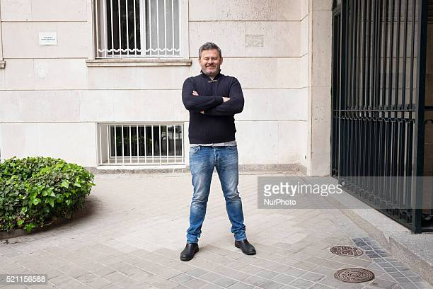 Miki Nadal attends the presentation of the TV program ''m in charge here' in Madrid Spain on April 14 2016