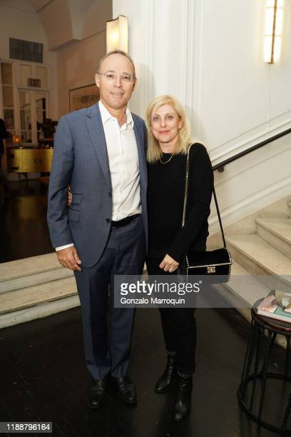 Miki Naftali and Frieda Naftali during the Celebration Of Achille Salvagni at Maison Gerard at the Elizabeth Collective on November 19 2019 in New...