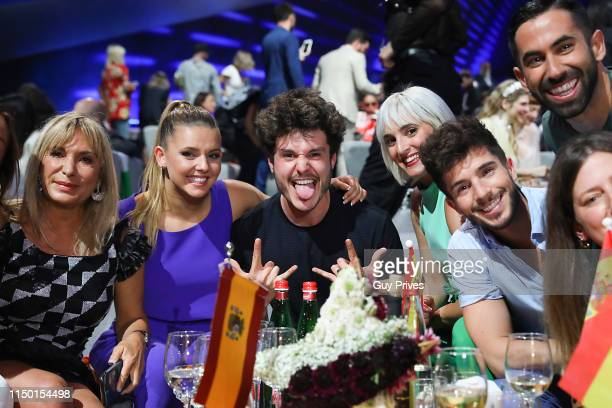 Miki of Spain during the 64th annual Eurovision Song Contest held at Tel Aviv Fairgrounds on May 18 2019 in Tel Aviv Israel