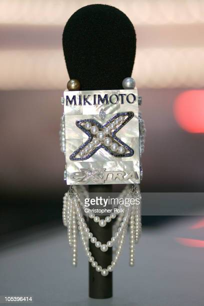 Mikimoto Partners with TV's EXTRA on the 77th Annual Academy Awards Red Carpet Creating the First Ever Pearl Diamond and Sapphire Microphone Worth...